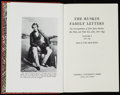 Books:Biography & Memoir, [Ruskin]. Van Akin Burd, editor. The Ruskin Family Letters. The Correspondence of John James Ruskin, His Wife, and Their... (Total: 2 Items)