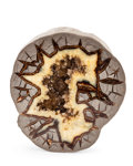 Lapidary Art:Carvings, SEPTARIAN. Cretaceous. 6 x 6.25 x 3.62 inches (15.24 x 15.87 x9.2 cm). ...