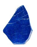 Lapidary Art:Carvings, LAPIS. Bandakshan Province. Afghanistan. 10.77 x 2.95 x 1.34inches (27.2 x 7.5 x 3.41 cm). ...