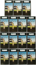 Baseball Cards:Lots, 1953-55 Dormand Postcards Gil Hodges Collection (65). This mid-1950s issue features only selected players from the Yankees, ...