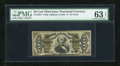 Fractional Currency:Third Issue, Fr. 1334 50c Third Issue Spinner PMG Choice Uncirculated 63 EPQ....
