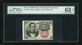 Fractional Currency:Fifth Issue, Fr. 1266 10c Fifth Issue PMG Choice Uncirculated 63 EPQ....