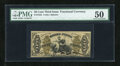 Fractional Currency:Third Issue, Fr. 1355 50c Third Issue Justice PMG About Uncirculated 50....