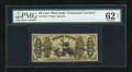 Fractional Currency:Third Issue, Fr. 1343 50c Third Issue Justice PMG Uncirculated 62....
