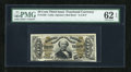 Fractional Currency:Third Issue, Fr. 1328 50c Third Issue Spinner PMG Uncirculated 62 EPQ....