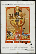 "Movie Posters:Action, Enter the Dragon (Warner Brothers, 1973). One Sheet (27"" X 41"").Action. ..."