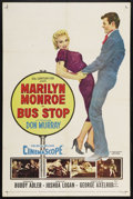 "Movie Posters:Drama, Bus Stop (20th Century Fox, 1956). One Sheet (27"" X 41""). Drama. ..."
