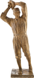 Baseball Collectibles:Others, 1924 Walter Johnson Statue by Ulric Dunbar....
