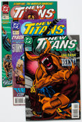 Modern Age (1980-Present):Superhero, New Teen Titans-Related Box Lot (DC, 1980s-2000s) Condition:Average NM-....