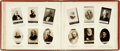 Miscellaneous:Trading Cards, [Cigarette Cards]. Ogden's New Century Photo Album. [N.p., n.d.,circa 1908]. ...