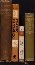 Books:Art & Architecture, [George Frederic Watts]. Group of Four First Edition Books about George Frederic Watts. Various places: various publishers, ... (Total: 4 Items)
