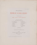 Books:Art & Architecture, [The Brothers Dalziel]. LIMITED. Dalziels' Bible Gallery.Illustrations from the Old Testament. London: George Routl...