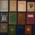 Books:Literature Pre-1900, Dante Gabriel Rossetti. Twelve Copies of The BlessedDamozel. Various publishers, 1898-1928.... (Total: 12 Items)