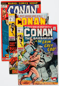 Bronze Age (1970-1979):Adventure, Conan the Barbarian Group of 20 (Marvel, 1971-74) Condition: Average VG/FN.... (Total: 20 Comic Books)