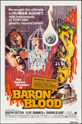 "Movie Posters:Horror, Baron Blood (American International, 1972). One Sheet (27"" X 41"").Horror.. ..."