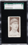 Baseball Cards:Singles (Pre-1930), Unique C. 1922 T231 Fans Cigarettes Home Run Baker SGC 20 Fair 1.5....
