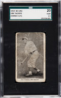 Baseball Cards:Singles (Pre-1930), 1915 W-Unc Jim Thorpe SGC 20 Fair 1.5 - The Only Example Known! ...