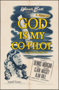 "Movie Posters:War, God Is My Co-Pilot (Warner Brothers, 1945). One Sheet (27"" X 41"").War.. ..."