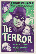 """Movie Posters:Mystery, The Terror (Alliance, 1940). One Sheet (27"""" X 41""""). Mystery.. ..."""