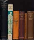 Books:Literature Pre-1900, [Edmund Gosse]. Group of Six Books by and about Edmund Gosse.[Various places]: [Various publishers, 1876-1965.... (Total: 6Items)