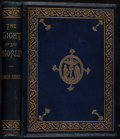Books:Literature Pre-1900, Sir Edwin Arnold. INSCRIBED. The Light of the World. OrThe Great Consummation. London: Longmans, Green, and Co....