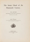 Books:Art & Architecture, John Ruskin. The Storm Cloud of the Nineteenth Century. Two Lectures Delivered at the London Institution. Kent: ...
