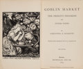 Books:Literature Pre-1900, Christina G. Rossetti. Goblin Market. The Prince's Progress and Other Poems. London: Macmillan and Co., 1875....