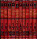 Books:Literature Pre-1900, Alfred Tennyson. The Works of Alfred Tennyson. London: HenryS. King & Co., 1875.... (Total: 10 Items)