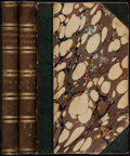 Books:Literature Pre-1900, Alfred Tennyson. Poems. London: Edward Moxon, 1843....(Total: 2 Items)