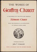Books:Literature Pre-1900, [William Morris]. Geoffrey Chaucer. The Works of GeoffreyChaucer. A Facsimile of the William Morris Kelmscott Chaucerw...