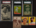 Baseball Cards:Lots, 1922 - 1948 Multi Brand Hall of Fame Collection (10). ...