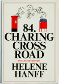 Books:Biography & Memoir, Helene Hanff. SIGNED. 84, Charing Cross Road. New York: Grossman Publishers, 1975. De Luxe gift edition. ...