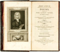 Books:Literature Pre-1900, Isaac Watts. Horæ Lyricæ. Poems, Chiefly of the Lyric Kind; inThree Books: Sacred to Devotion and Piety--To Virtue, Hon...
