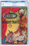 Golden Age (1938-1955):Classics Illustrated, Classic Comics #8 Arabian Knights - First Edition (Gilberton, 1943)CGC FN 6.0 Cream to off-white pages....