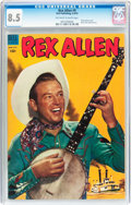 Golden Age (1938-1955):Western, Rex Allen Comics #9 (Dell, 1953) CGC VF+ 8.5 Off-white to white pages....