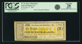 Obsoletes By State:Louisiana, Lake Providence, LA - W.M. Shaw, Wharf-boat $1 May 15, 1862. PCGS Very Fine 20 Apparent.. ...