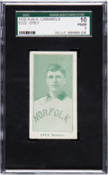 Baseball Cards:Singles (Pre-1930), 1910 E222 A.W.H. Caramels Bill Otey SGC 10 Poor 1....