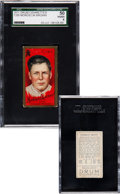 Baseball Cards:Singles (Pre-1930), Extremely Rare 1911 T205 Drum Mordecai Brown SGC 50 VG/EX 4 -Highest Grade Known!...