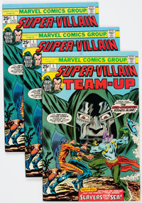 Super-Villain Team-Up #1 Group of 18 (Marvel, 1975) Condition: Average VF.... (Total: 18 Comic Books)