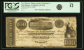 Obsoletes By State:Louisiana, New Orleans, LA - New Orleans Improvement & Banking Co. (Banque des Amèliorations) $100 May 8, 1840 LA-120 G10. PCGS Fine 12....