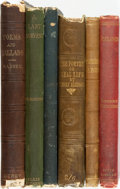 Books:Literature Pre-1900, [Poetry]. Group of Six Titles. Various publishers and dates. ...(Total: 6 Items)
