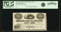 Obsoletes By State:Louisiana, New Orleans, LA - Insurance Bank of W.B. Partee & Co. 50 Cents July 1, 1851. Proof. PCGS New 62 PPQ.. ...