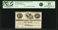 Obsoletes By State:Louisiana, New Orleans, LA - Insurance Bank of W.B. Partee & Co. 10 Cents July 1, 1851. Proof. PCGS Very Choice New 64 Apparent.. ...