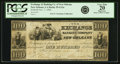 Obsoletes By State:Louisiana, New Orleans, LA - Exchange and Banking Company of New Orleans $100 Nov. 1, 1836 LA-55 G12a. PCGS Very Fine 20 Apparent.. ...
