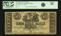 Obsoletes By State:Louisiana, New Orleans, LA - City Bank of Louisiana $50 Nov. 19, 1842 LA-20 G42b. PCGS Very Fine 20.. ...
