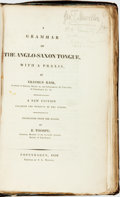 Books:Non-fiction, Erasmus Rask. A Grammar of the Anglo-Saxon Tongue, with a Praxis. Copenhagen: Printed by S. L. Moller, 1830. Transla...