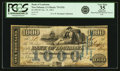 Obsoletes By State:Louisiana, New Orleans, LA - Bank of Louisiana $1000 Forced Issue Jan 14, 1862 LA-75 G32c. PCGS Very Fine 35 Apparent.. ...