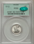 Barber Dimes: , 1912 10C MS66 PCGS. CAC. PCGS Population (46/3). NGC Census:(33/10). Mintage: 19,350,000. Numismedia Wsl. Price for proble...