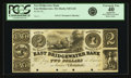 Obsoletes By State:Massachusetts, East Bridgewater, MA - East Bridgewater Bank $2 18__ MA-545 G10SENC. PCGS Extremely Fine 40 Apparent.. ...