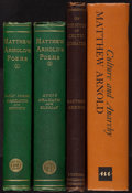 Books:Literature Pre-1900, [Matthew Arnold]. Group of Three Books by Matthew Arnold. Londonand Ann Arbor: various publishers, 1867-1965.... (Total: 4 Items)